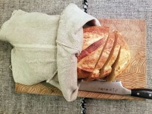 Belgian Linen Bread Bag