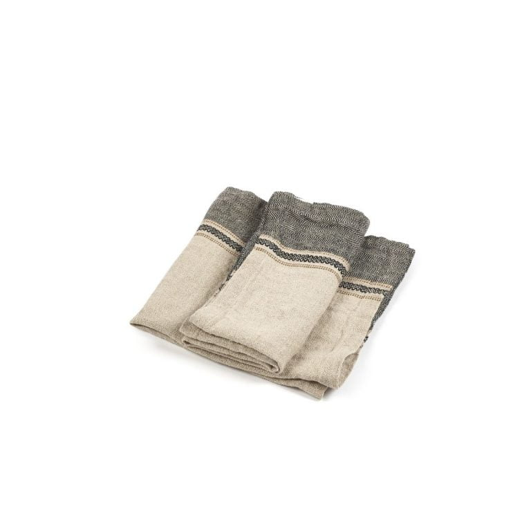 Thompson Napkin Camel Stripe 02