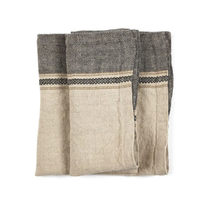 Thompson Napkin Camel Stripe 03
