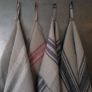 Homespun Linen Kitchen Cloth